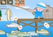 เกมส์ตกปลาทำเบอร์เกอร์