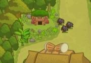 เกมส์สร้างป้อมป้องกันสัตว์ป่า