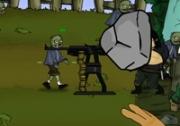 เกมส์ขว้างหินโจมตีซอมบี้