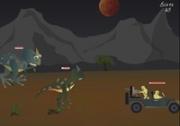 เกมส์ยิงปืนหนีไดโนเสาร์