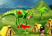 เกมส์คนป่า่ล่าไดโนเสาร์