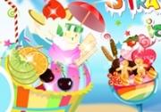 เกมส์ทำไอศกรีมสตอเบอรี่หรรษา