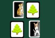 เกมส์จับคู่สัตว์ป่าสัตว์เลี้ยง