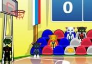 เกมส์แมวเหมียวแข่งชูตบาส
