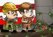 เกมส์ต่อสู้ผีซอมบี้ขโมยเงิน