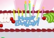 เกมส์ทำเค้กสุขสันต์วันเกิด