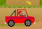 เกมส์มาริโอขับรถเก็บเหรียญทอง