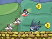 เกมส์หมูวิ่งหนีหมาป่า