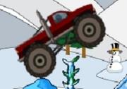เกมส์ขับรถกระบะตะลุยหิมะ