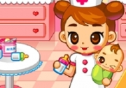 เกมส์พยาบาลดูแลเด็กทารก