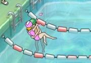 เกมส์จีบสาวในสระว่ายน้ำ
