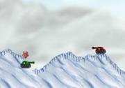 เกมส์สงครามรถถังภูเขาหิมะ