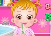 เกมส์ช่วยเด็กน้อยอาบน้ำแปลงฟัน