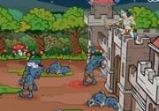 เกมส์ป้องกันซอมบี้ถล่มปราสาท