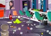 เกมส์ทำความสะอาดร้านเสริมสวย