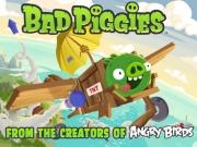 เกมส์หมูตัวเขียว Bad Piggies HD