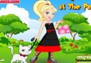 เกมส์แต่งตัวสาวไฮโซเดินจูงหมา