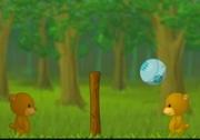เกมส์หมีน้อยแข่งโยนบอล