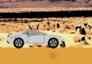เกมส์ขับรถฝ่าพายุทะเลทราย