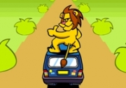 เกมส์สิงโตขี่มอเตอร์ไซค์