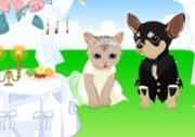 เกมส์แต่งตัวหมาแมวแต่งงาน