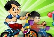 เกมส์เด็กจอมแก่นปั่นจักรยาน