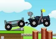 เกมส์ทอมและเจอรี่ขับรถแทรกเตอร์