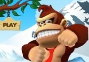 เกมส์ลิงจอมแก่นขี่รถตะลุยหิมะ