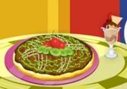 เกมส์บาร์บี้ทำพิซซ่าขนมหวาน