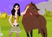 เกมส์แต่งตัวสาวคาวบอยเลี้ยงม้า