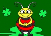 เกมส์ระบายสีแมลงตัวจิ๋ว