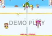เกมส์ตัวการ์ตูนแข่งวอลเลย์ชายหาด