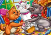 เกมส์ระบายสีแมวเหมียวเพื่อนซี้