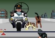 เกมส์ยิงปืนหนีตำรวจ