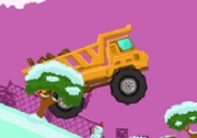 เกมส์รถบรรทุกสินค้ากลางหิมะ