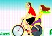 เกมส์ปั่นจักรยานจีบสาว