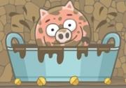 เกมส์จับหมูอาบน้ำโคลน