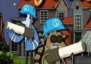 เกมส์สองจอมแสบยิงปืนปราบทหาร
