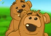 เกมส์หมีพ่อลูกกินน้ำผึ้ง