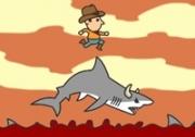 เกมส์เหยียบหลังปลาฉลาม