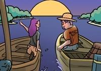 เกมส์ล่องเรือตกปลาทะเล