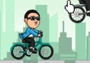 เกมส์กังนัมสไตล์ปั่นจักรยานซิ่ง