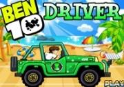 เกมส์เบ็นเท็นขับรถตะลุยหาด