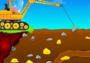 เกมส์รถเครื่องจักรขุดทอง