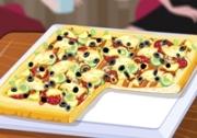 เกมส์ทำพิซซ่าสี่เหลี่ยม