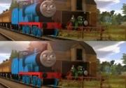 เกมส์จับผิดภาพรถไฟโทมัส