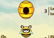 เกมส์ผึ้งหาอาหารกลับรัง