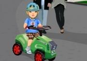 เกมส์ขับรถเด็กเล่น