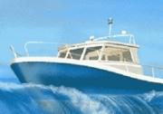 เกมส์ขับเรือแข่งสามมิติ