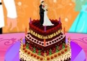 เกมส์ทำเค้กแต่งงานหัวใจ